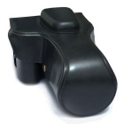 PU Leather Camera Case Bag for Canon 60D/70D/7D/7DII - Black