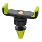 "KICCY Adjustable Air Vent Car Mount for 4~6"" Phone - Black + Green"