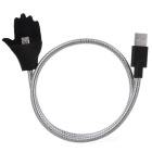 Creative Stand USB 2.0 to V8 Interface Data Cable - Silver (57cm)