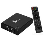 KI Plus T2 S2 Amlogic S905 Android TV Box w / 1 GB de RAM, 8 GB ROM (enchufe de Reino Unido)