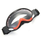 Motorcycle Enduro Ski Snowboard Protective Glasses - Black + Red