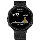 GARMIN Forerunner 235 - Black and Gray Silicone Watch English version