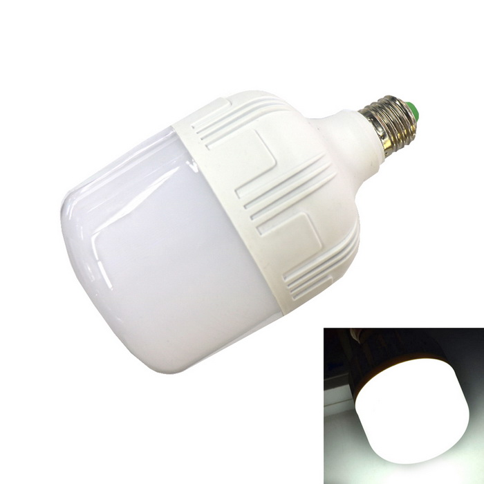 E27 28W 2450lm 58-2835 SMD Bulb Light Cold White Light (85-265V)