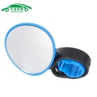 Universal Adjustable Mountain Bike Handlebar Rearview Mirror - Blue