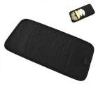 ZIQIAO CD DVD Car Sun Visor Card Case Wallet Storage Holder Bag -Black