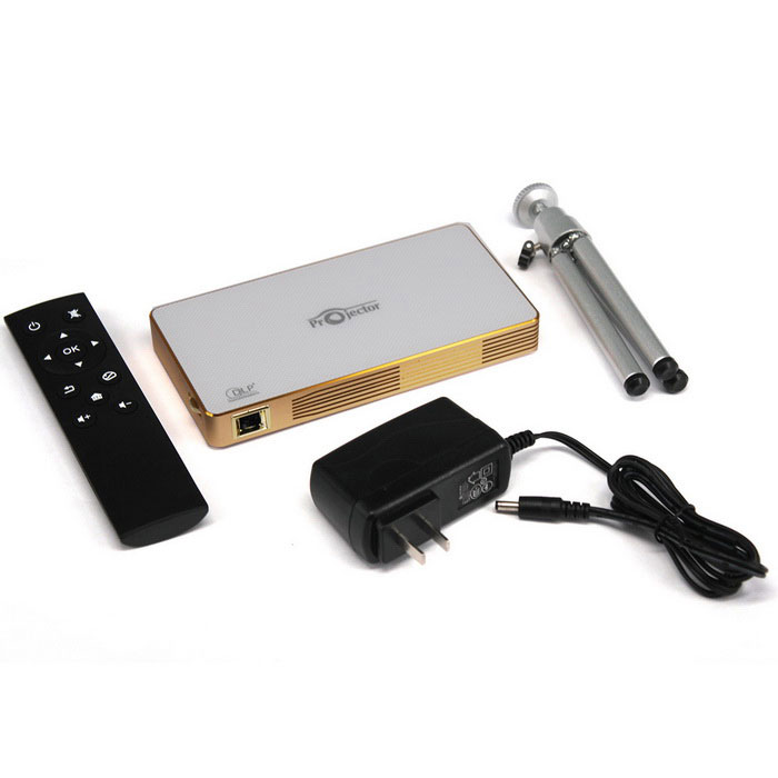 Kemico professional mini smart projector with android 4 4 for Mini smart projector