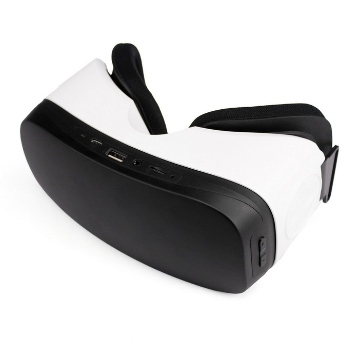 All in One 3D Virtual Reality Glasses with Android 1080P - Black