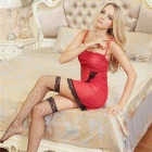 FanYang H210 Women's Sexy Lingerie Suit Lace + Spandex Sleep Dress