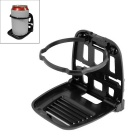ZIQIAO Car Vento saída de ar Mount Cup Holder - Preto