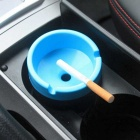 ZIQIAO Portable Computer Desk Car Dual Use Ashtray - Blue