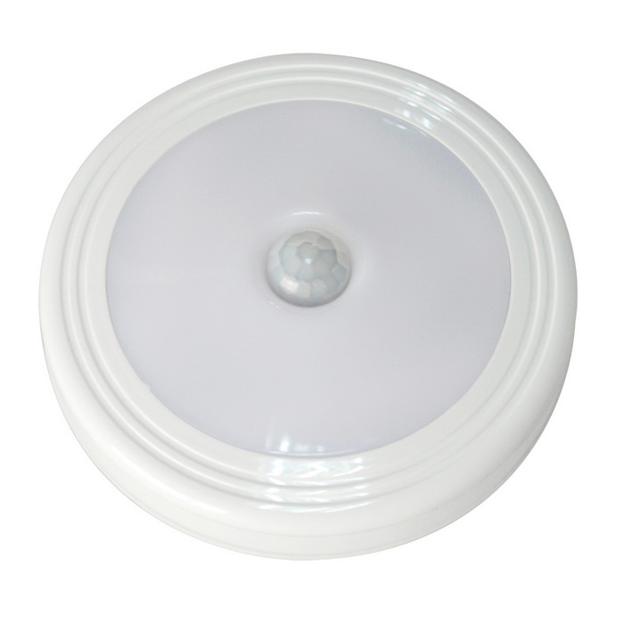 Jiawen Mini PIR Human Body Motion Light Sensor LED Night Light - WhiteLED Nightlights<br>Form  ColorWhiteMaterialPlasticQuantity1 DX.PCM.Model.AttributeModel.UnitPowerOthers,0.3WRated VoltageOthers,4.5 DX.PCM.Model.AttributeModel.UnitConnector TypeOthers,-Color BINCold WhiteTotal Emitters6Theoretical Lumens30 DX.PCM.Model.AttributeModel.UnitActual Lumens30 DX.PCM.Model.AttributeModel.UnitColor Temperature12000K,Others,5500-6500KDimmableNoInstallation TypeOthers,pasted /attractionPacking List1 * Light1 * Iron sheet1 * 3M double-sided adhesive1 * User Guide<br>