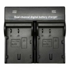 BLF19 Digital Camera Battery Dual Charger for Panasonic GH3 GH4GK AG-G