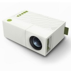 G19 Home Theater Mini Proyector LED con SD, HDMI, AV, USB - Blanco