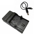 Ismartdigi Dli109 Micro USB Battery Charger for Pentax - Black