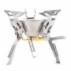 Fire - Maple FMS - 100 Gas Stove - Silver