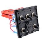CS-425A1 Retrofit Panel Toggle Switch - Black