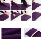 Departure Sanitary Polyester Taffeta Sleeping Bag - Purple