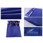 Departure Sanitary Polyester Taffeta Sleeping Bag - Deep Blue