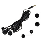 D&S DSE6047 Outdoor Sports 3.5mm Plug In-Ear Earphone - Black