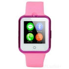 "NO.1 D3 1.22"" MTK6261 Sleep Monitor Camera Smart Watch - Dark Pink"