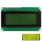 OPEN-SMART I2C / IIC LCD 2004 Yellow-green Display Module for Arduino