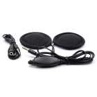 CS-083A1 Motorcycle Helmet / MP3 Headset w/ Remote Control - Black