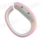Dolphins Style LED Bracelet Watch - Pink + White