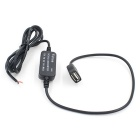 CS-017A1 12V to 5V Car Power Charger Digital Products - Black