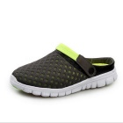 Men's Air-mesh Beach Leisure Sandals Shoes - Fruit Green (Pair / 40)