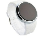 Maikou Circular Movement Touch Screen LED Watch - White