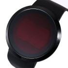 Maikou Circular Movement Touch Screen LED Watch - Black