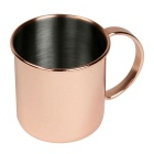 Stainless Steel Copper-plated Mug Drinking Cup (450ml)