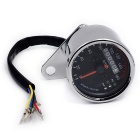Motorcycle LED Indicator Light w/ Electronic Tachometer, Odometer