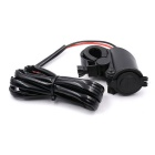 Motorcycle Waterproof Dual USB 2.1A Fixed Leading Mobile Phone Charger