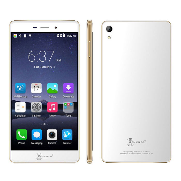 "KENXINDA R6 5.2 "" smartphone Android 5.1 4G ultramince FHD octa -core"