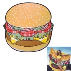 Digital Printing Hamburger Beach Towel Cape - Yellow + Multicolor
