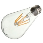 E26 6W Edison Vintage Style LED Bulb Lamp - Transparent