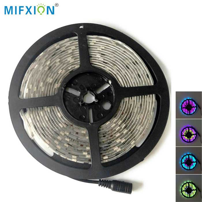 MIFXION Impermeable 5050 300-LED RGB tira de luz flexible (5m)