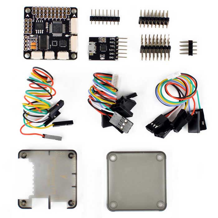 Racing F3 Flight Controller Intergrate OSD ACROOther Accessories for R/C Toys<br>Form  ColorBlackMaterialComposite materialQuantity1 DX.PCM.Model.AttributeModel.UnitCompatible ModelMini QAV250 QAV210 QAV180 QAV280Packing List1 * SP F3 Acro FC integrated OSD 1 * Protective case 1 * OSD Programmer 4 * Connection cable(15cm) 4 * Pin header<br>