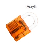 Acrylic Fine Locksmith Tool Set - Translucent Orange + Red
