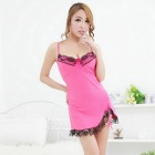 FanYang X18 Women's Sexy Lace +Spandex Sleep Dress Lingerie Suit