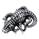Xinguang Women's Crocodile Domineering Crystal Ring (US Size 6)