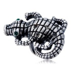 Xinguang Women's Crocodile Domineering Crystal Ring (US Size 7)