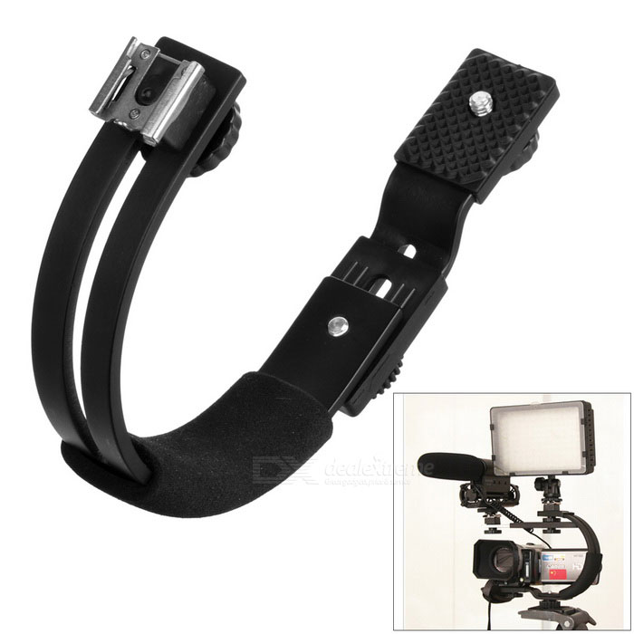 Universal Camera C-Type Bracket / Hoder - Black