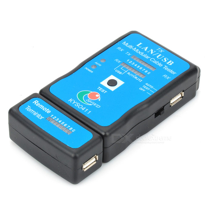 Usb Cable Tester : Shwd kys in rj network and usb cable