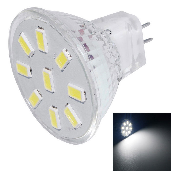 Youoklight MR11 2W 9-SMD 5733 6000K blanco frío proyector del LED