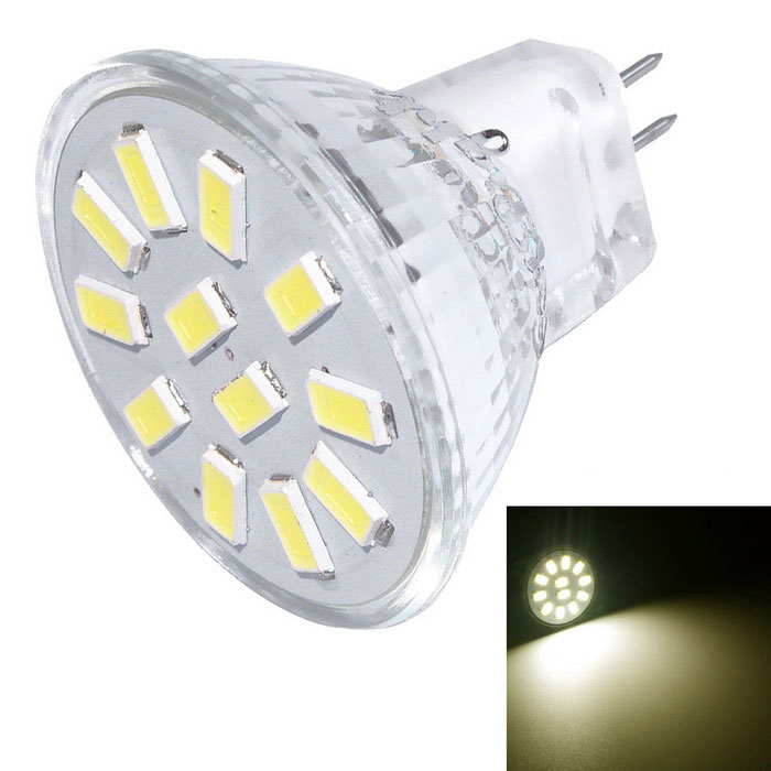 YouOKLight MR11 3W 12-5733 3000K blanco cálido LED Spotlight (DC 10 ~ 30V)