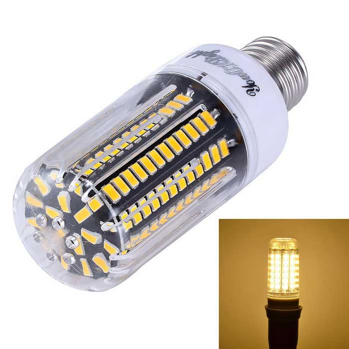 YouOKLight Dimming E27 15W 138-SMD 5733 Warm White LED Corn Bulb