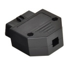 Jtron J1962F OBD2 16Pin Female Connector OBDII Adaptor - Black