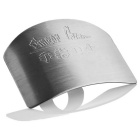 Stainless Steel Finger Protective Guard - stříbrný Grey